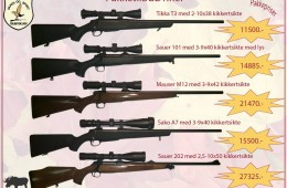 Pakketilbud Rifler